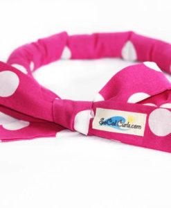 Bubblegum Polka Hair Curling Tie by SoCal Curls™