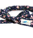 Navy FloralHair Curling Tie by SoCal Curls™
