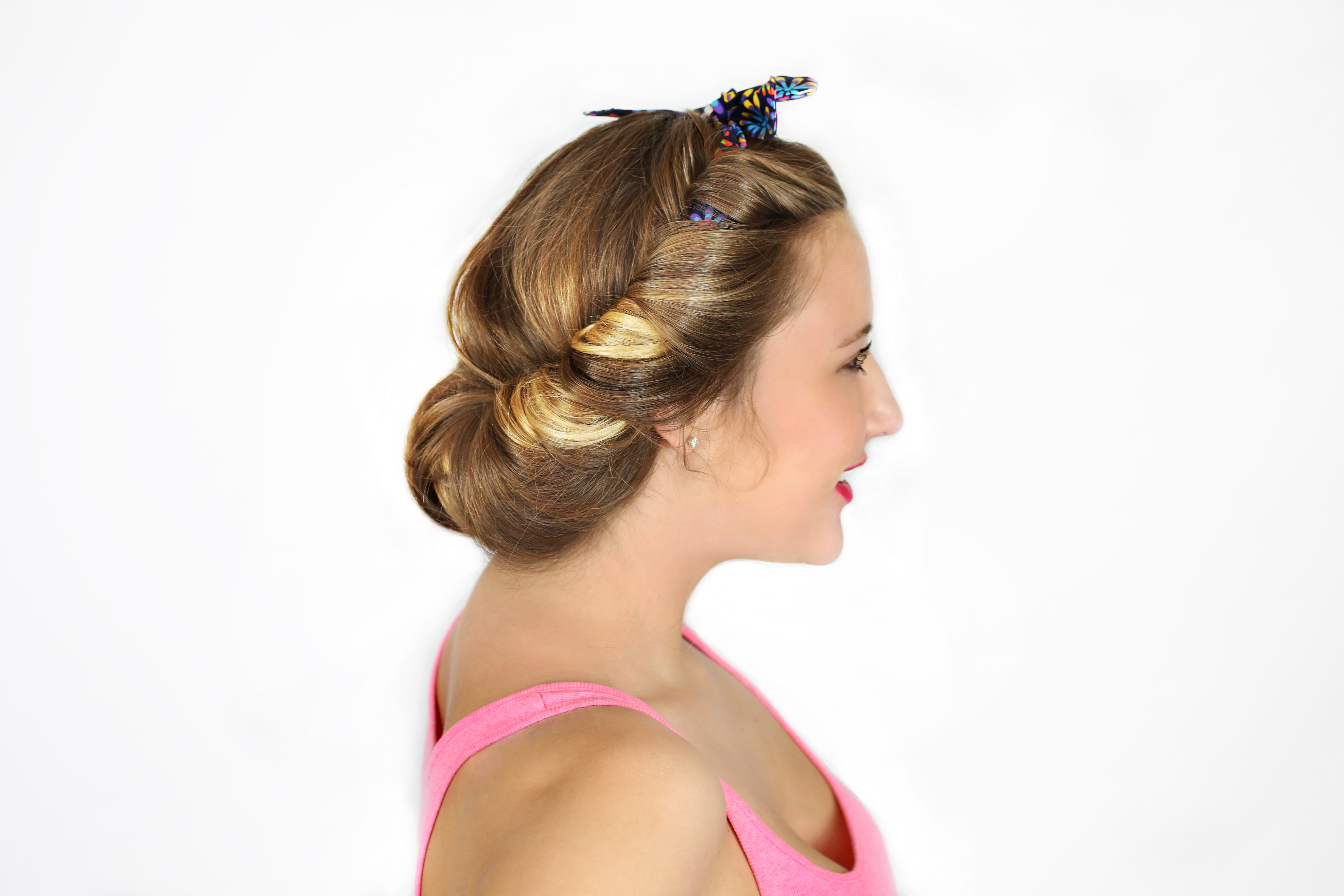 Boho Beauty Updo 2