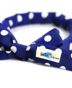 Pin Up Blue Hair Curling Tie by SoCal Curls™