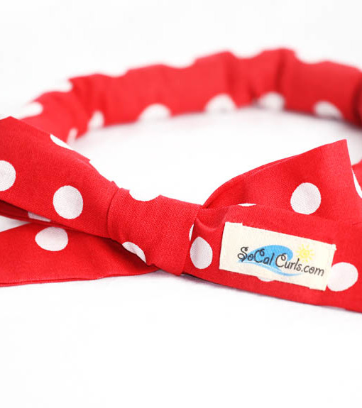 Retro Red Hair Curling Tie by SoCal Curls™